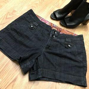 EUC Dark Denim shorts. Size 14